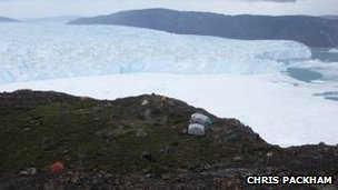 Store Glacier, Greenland