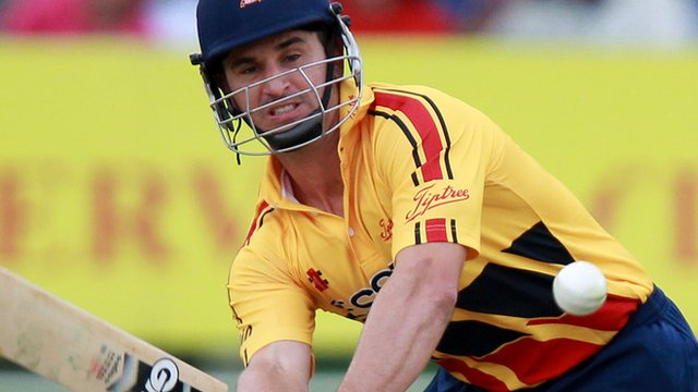 Essex all-rounder Ryan Doeschate