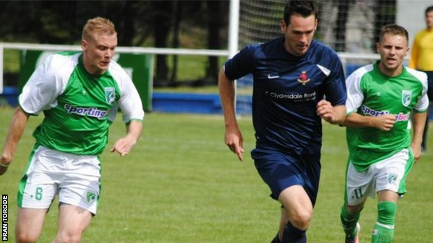 Guernsey FC vs Jersey Scottish