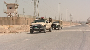 Iraqi forces patrolling its border with Syria