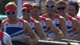 GB men's eight ease into final