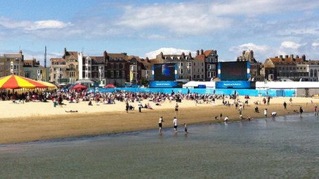 Weymouth and Portland Live site