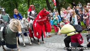 St Olav festival is attracting many tourists
