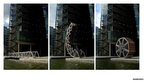 Rolling Bridge, Paddington Basin, London, UK 2004