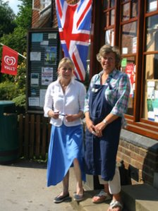 Annie Williams & Mandy Woods in Abinger Hammer