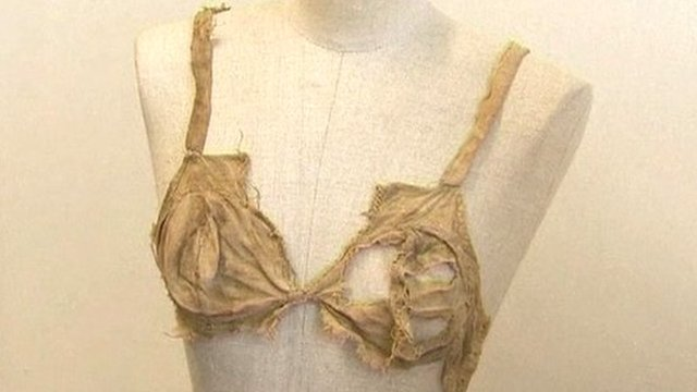 The 15th Century bra discovered in an Austrian castle