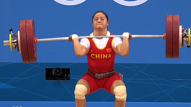 Olympic weightlifting champion Xueying Li