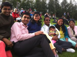 The Goyal family