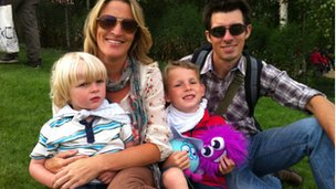 Anne, Paul, Hayden and Ethan