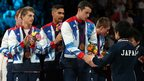 Max Whitlock, Louis Smith, Kristian Thomas and Sam Oldham