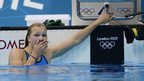 Lithuanian swimmer Ruta Meilutyte