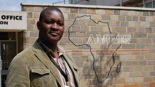 Amref's Frank Odhiambo