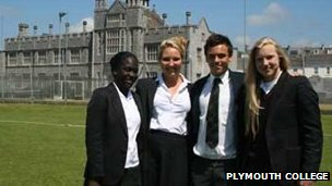 Plymouth College Olympians