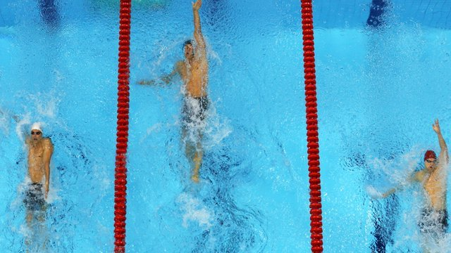 Matt Grevers wins 100m backstoke gold