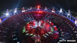 Olympic Games opening ceremony