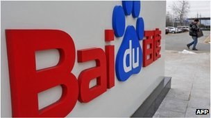 Baidu has an almost 80% share of China's online search market