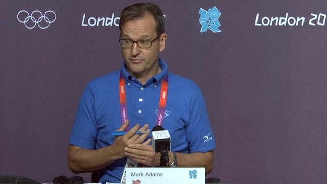 International Olympic Committee communications director Mark Adams