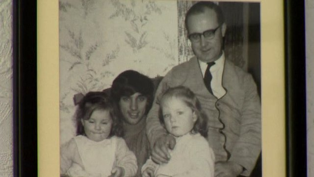 Family portrait in George Best's childhood home