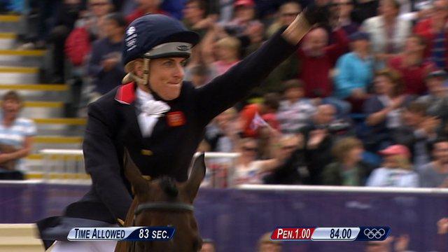 GB grab equestrian team silver