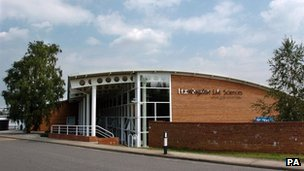 Huntingdon Life Sciences building
