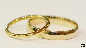 Wedding rings (generic image)