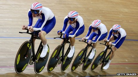 GB team pursuit team