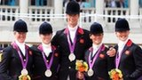 The Great Britain eventing team