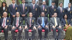 Sri Lankan 2012 Olympic team