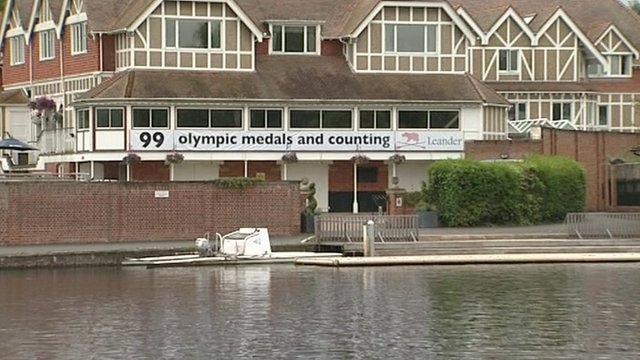 Leander Club in Henley