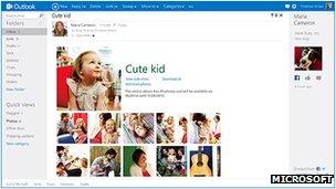 Outlook.com screenshot