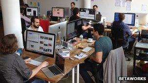 Digg team at work