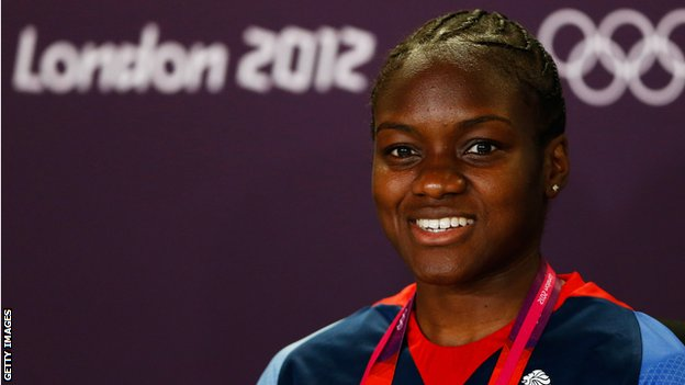 Nicola Adams of Great Britain