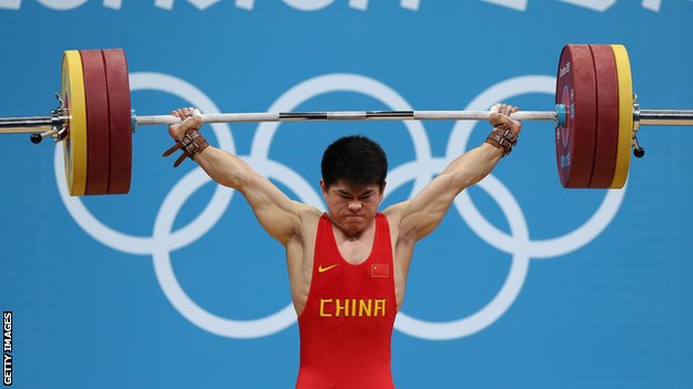 China's Lin Qingfeng in action