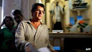 Cuban dissident Oswaldo Paya