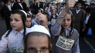 Ultra-Orthodox Jews believe the Tal Law should be kept