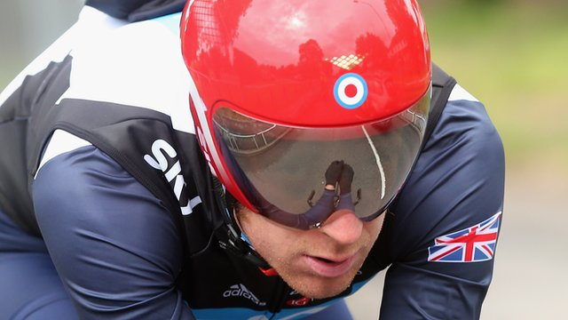 Great Britain's Bradley Wiggins