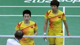 Fans jeer badminton players for 'not trying'