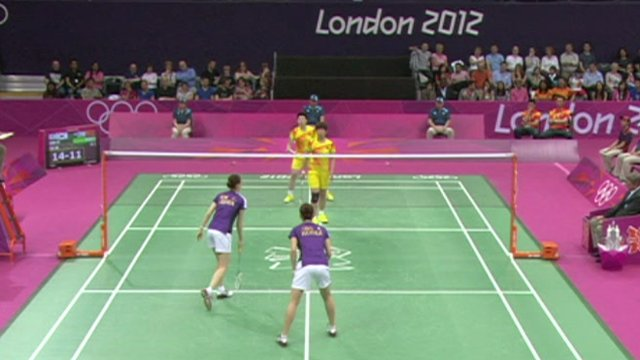 Badminton at London 2012 Olympics