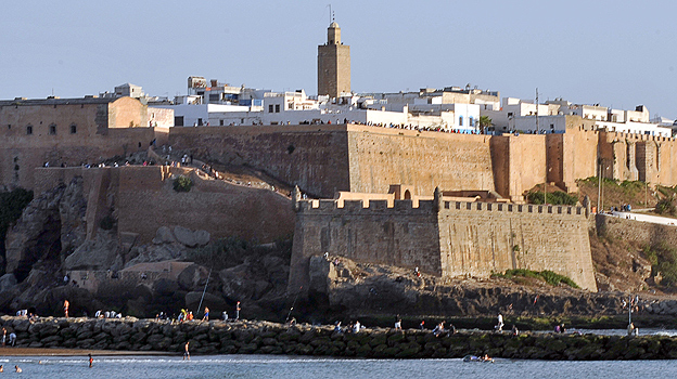 Kasbah of Oudayas in Rabat