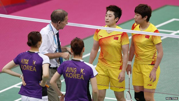 Badminton Players http://www.bbc.co.uk/newsround/19075263