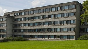 The existing 1960s student accommodation will be redeveloped