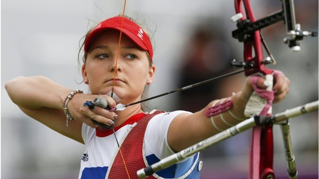 Amy Oliver GB archer