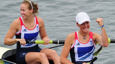 Heather Stanning, Helen Glover