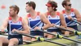 Team GB Mens quadruple scull crew