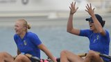 Ukraine win the women's quadruple sculls