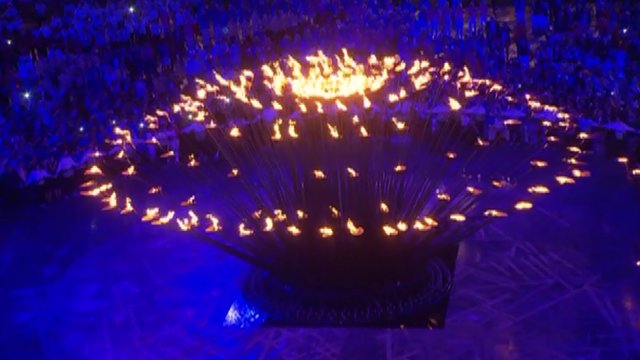 Thomas Heatherwick's Olympic cauldron