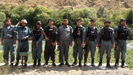 Afghan National Police