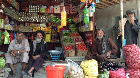 Shopkeepers have a lot to complain against the Afghan administration