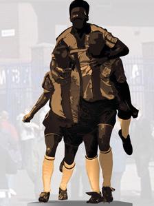 Artist's impression of statue