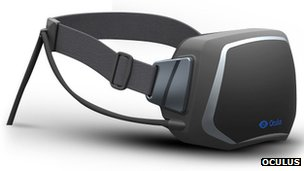 Oculus Rift headset design